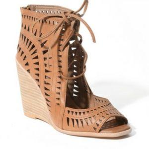 Jeffrey Campbell Rodillo Hi Wedge Sandals Shoes